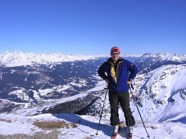 Foto: Andreas Koller / Skitour / Vom Helm (2434 m) aufs Hornischegg (2550 m) und die Hollbrucker Spitze (2581 m) / 23.12.2008 16:42:12