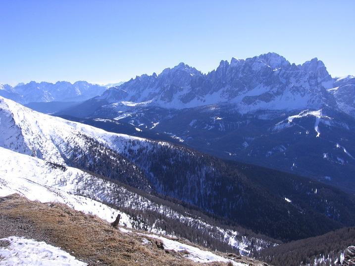 Foto: Andreas Koller / Skitour / Vom Helm (2434 m) aufs Hornischegg (2550 m) und die Hollbrucker Spitze (2581 m) / 23.12.2008 16:42:05