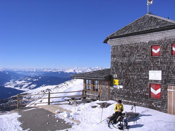 Foto: Andreas Koller / Skitour / Vom Helm (2434 m) aufs Hornischegg (2550 m) und die Hollbrucker Spitze (2581 m) / 23.12.2008 16:41:46