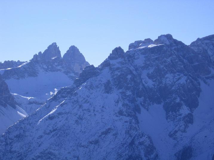 Foto: Andreas Koller / Skitour / Vom Helm (2434 m) aufs Hornischegg (2550 m) und die Hollbrucker Spitze (2581 m) / 23.12.2008 16:41:39
