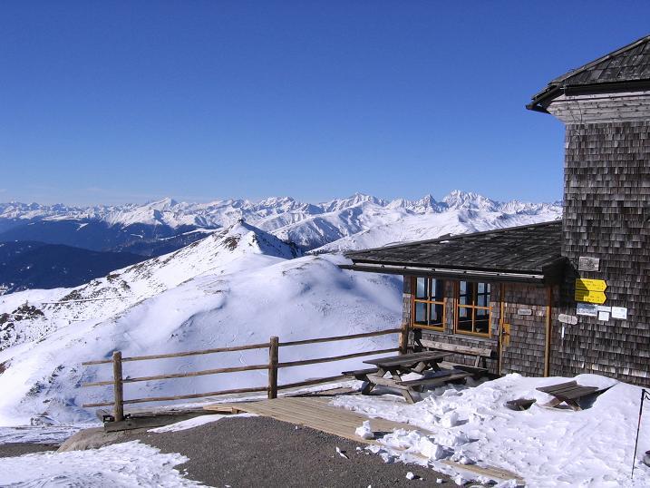 Foto: Andreas Koller / Skitour / Vom Helm (2434 m) aufs Hornischegg (2550 m) und die Hollbrucker Spitze (2581 m) / 23.12.2008 16:41:22