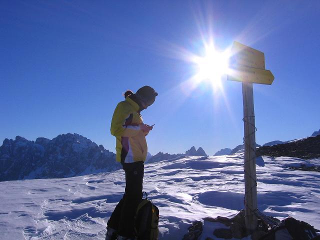 Foto: Andreas Koller / Skitour / Vom Helm (2434 m) aufs Hornischegg (2550 m) und die Hollbrucker Spitze (2581 m) / 23.12.2008 16:40:37