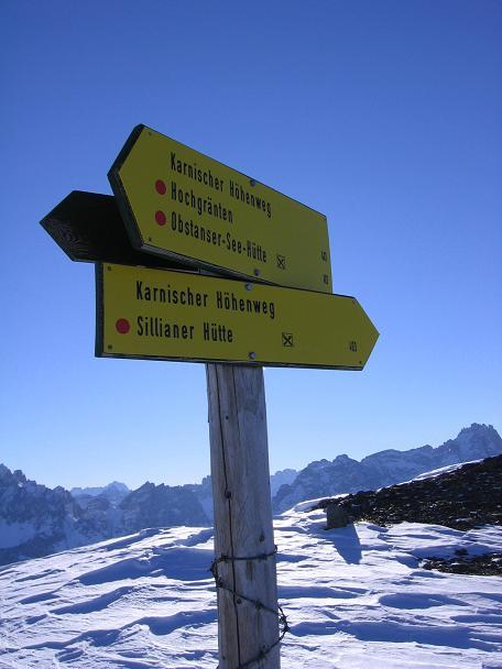 Foto: Andreas Koller / Skitour / Vom Helm (2434 m) aufs Hornischegg (2550 m) und die Hollbrucker Spitze (2581 m) / 23.12.2008 16:40:29