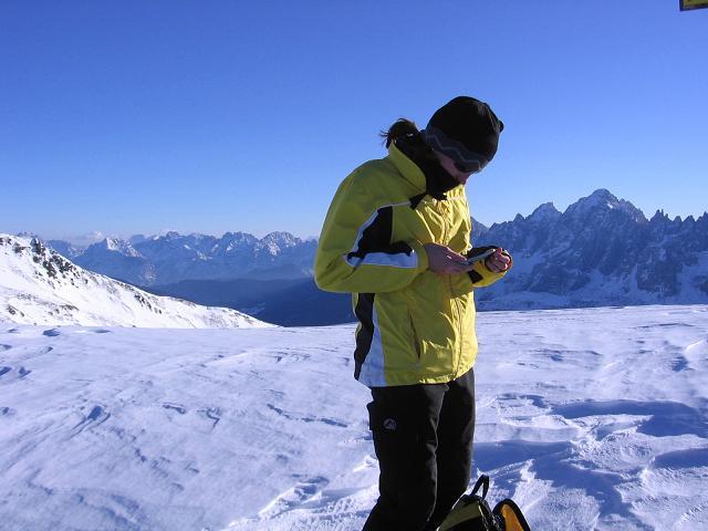 Foto: Andreas Koller / Skitour / Vom Helm (2434 m) aufs Hornischegg (2550 m) und die Hollbrucker Spitze (2581 m) / 23.12.2008 16:40:23