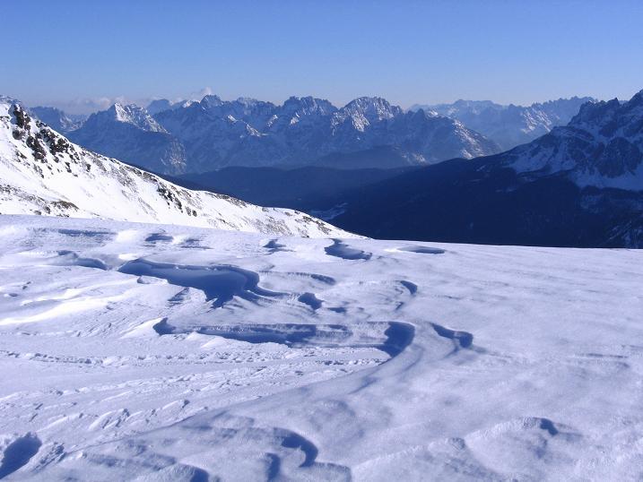 Foto: Andreas Koller / Skitour / Vom Helm (2434 m) aufs Hornischegg (2550 m) und die Hollbrucker Spitze (2581 m) / 23.12.2008 16:40:16