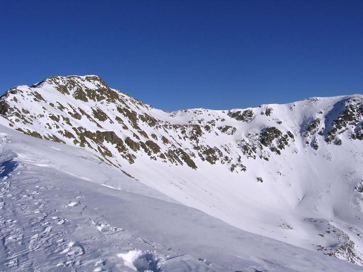 Foto: Andreas Koller / Skitour / Vom Helm (2434 m) aufs Hornischegg (2550 m) und die Hollbrucker Spitze (2581 m) / 23.12.2008 16:40:01