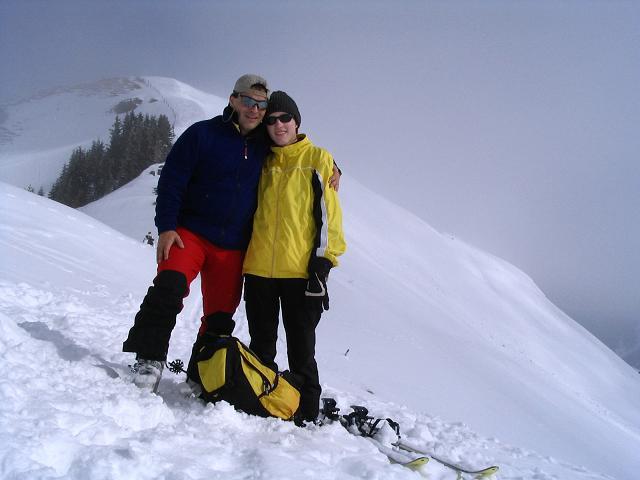 Foto: Andreas Koller / Ski Tour / Langeck (1899m) - Hundstein (2117m) - Hochkaser (2017m) / 24.12.2008 01:53:44