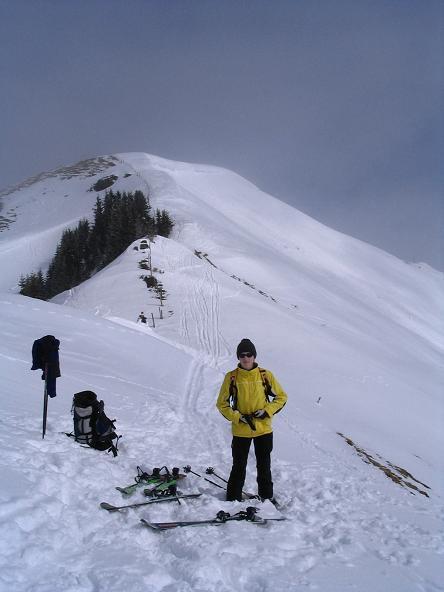 Foto: Andreas Koller / Ski Tour / Langeck (1899m) - Hundstein (2117m) - Hochkaser (2017m) / 24.12.2008 01:53:30