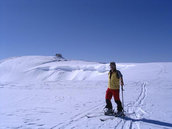 Foto: Andreas Koller / Ski Tour / Langeck (1899m) - Hundstein (2117m) - Hochkaser (2017m) / 24.12.2008 01:53:18