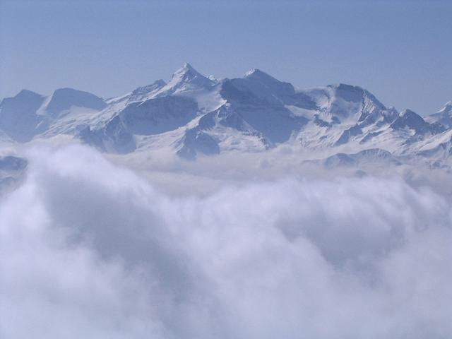 Foto: Andreas Koller / Ski Tour / Langeck (1899m) - Hundstein (2117m) - Hochkaser (2017m) / 24.12.2008 01:52:53