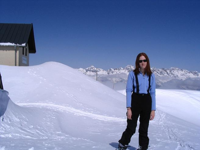 Foto: Andreas Koller / Ski Tour / Langeck (1899m) - Hundstein (2117m) - Hochkaser (2017m) / 24.12.2008 01:52:30