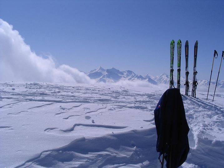 Foto: Andreas Koller / Ski Tour / Langeck (1899m) - Hundstein (2117m) - Hochkaser (2017m) / 24.12.2008 01:52:16