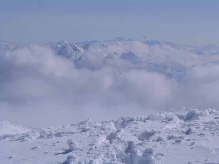 Foto: Andreas Koller / Ski Tour / Langeck (1899m) - Hundstein (2117m) - Hochkaser (2017m) / 24.12.2008 01:52:08
