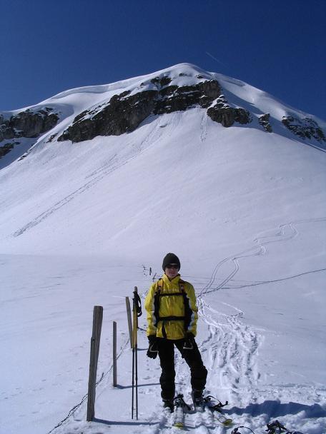 Foto: Andreas Koller / Ski Tour / Langeck (1899m) - Hundstein (2117m) - Hochkaser (2017m) / 24.12.2008 01:52:03
