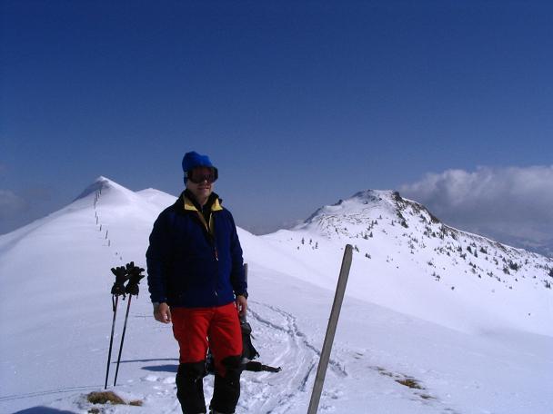 Foto: Andreas Koller / Ski Tour / Langeck (1899m) - Hundstein (2117m) - Hochkaser (2017m) / 24.12.2008 01:51:55