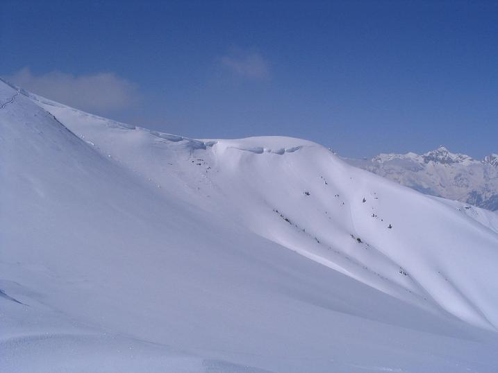 Foto: Andreas Koller / Ski Tour / Langeck (1899m) - Hundstein (2117m) - Hochkaser (2017m) / 24.12.2008 01:51:42