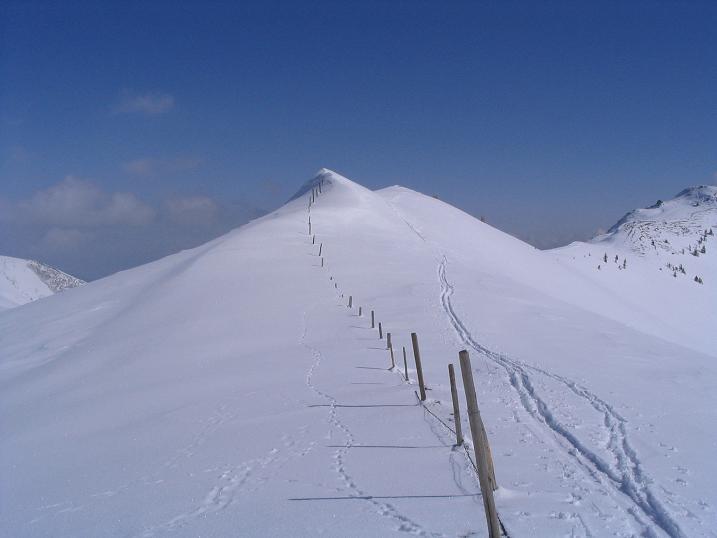 Foto: Andreas Koller / Ski Tour / Langeck (1899m) - Hundstein (2117m) - Hochkaser (2017m) / 24.12.2008 01:51:29