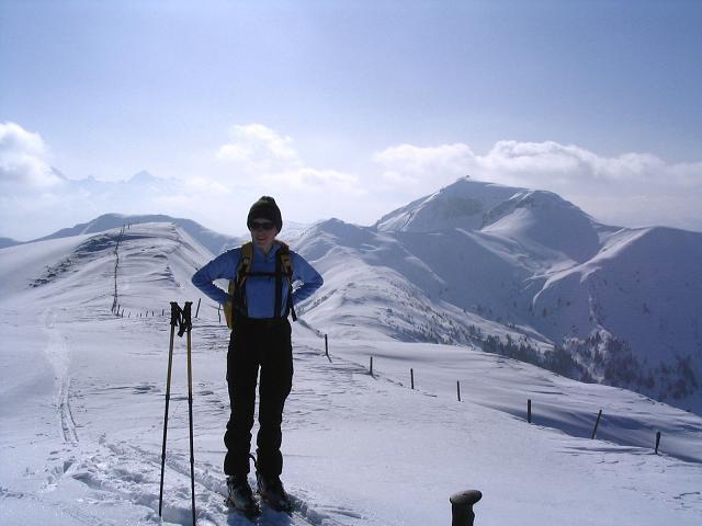 Foto: Andreas Koller / Ski Tour / Langeck (1899m) - Hundstein (2117m) - Hochkaser (2017m) / 24.12.2008 01:51:21