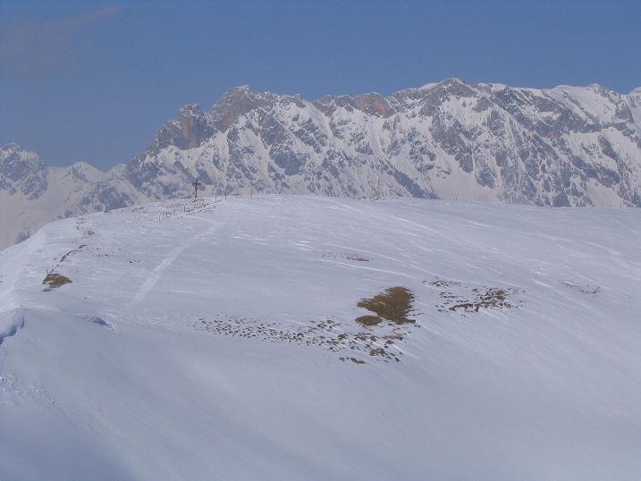 Foto: Andreas Koller / Ski Tour / Langeck (1899m) - Hundstein (2117m) - Hochkaser (2017m) / 24.12.2008 01:51:14