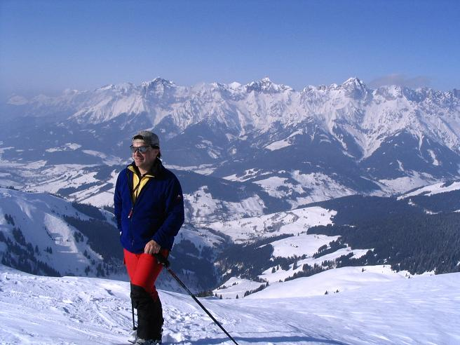 Foto: Andreas Koller / Ski Tour / Langeck (1899m) - Hundstein (2117m) - Hochkaser (2017m) / 24.12.2008 01:53:57