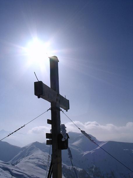 Foto: Andreas Koller / Ski Tour / Langeck (1899m) - Hundstein (2117m) - Hochkaser (2017m) / 24.12.2008 01:50:27