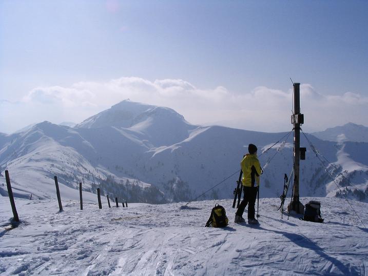 Foto: Andreas Koller / Ski Tour / Langeck (1899m) - Hundstein (2117m) - Hochkaser (2017m) / 24.12.2008 01:50:21