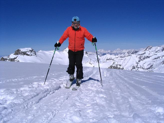 Foto: Andreas Koller / Ski Tour / Über den Stubacher Sonnblick (3088m) ins Osttiroler Tauerntal / 24.12.2008 13:16:34