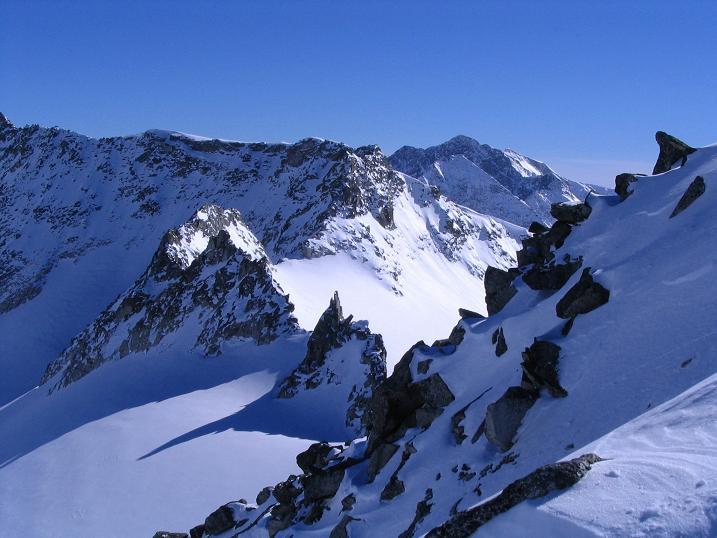 Foto: Andreas Koller / Ski Tour / Über den Stubacher Sonnblick (3088m) ins Osttiroler Tauerntal / 24.12.2008 13:15:35