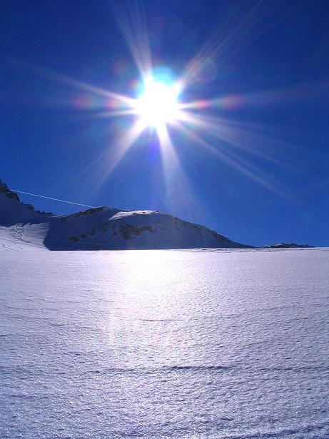 Foto: Andreas Koller / Skitour / Über den Stubacher Sonnblick (3088m) ins Osttiroler Tauerntal / 24.12.2008 13:13:25