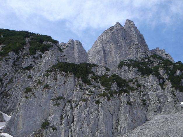 Foto: Manfred Karl / Ski Tour / Manndlscharte (2098m) / Strichkögel aus dem Weitkar / 27.01.2009 20:42:36