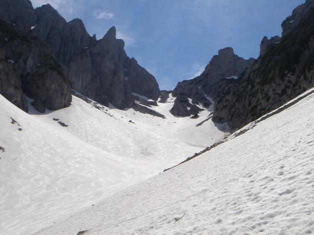 Foto: Manfred Karl / Ski Tour / Manndlscharte (2098m) / Schön war der Abstecher in die Weitscharte / 27.01.2009 20:39:56