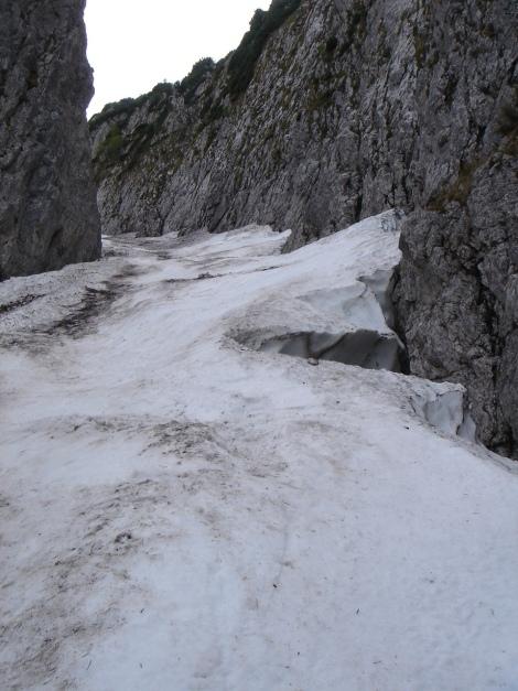 Foto: Manfred Karl / Ski Tour / Manndlscharte (2098m) / In der Rinne / 27.01.2009 20:36:50
