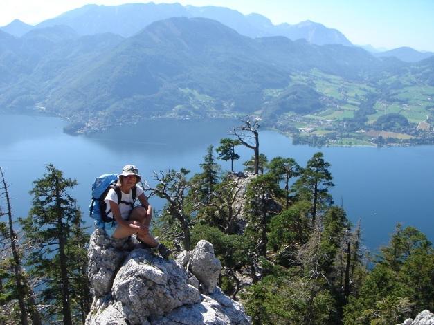 Foto: Manfred Karl / Kletter Tour / Südwestgrat / Südwestgrat vor dem Überstieg / 22.08.2009 21:42:49