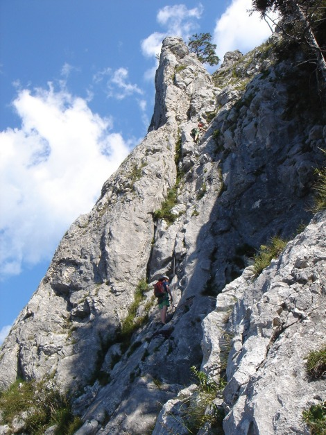 Foto: Manfred Karl / Kletter Tour / Sanduhrparadies / Der letzte Turm am Südwestgrat / 27.08.2009 20:40:09