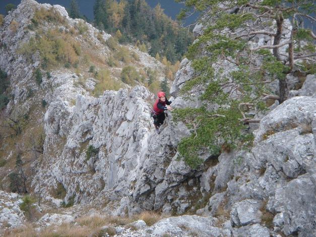 Foto: Manfred Karl / Kletter Tour / Sanduhrparadies / Am letzten Turm / 27.08.2009 20:36:13