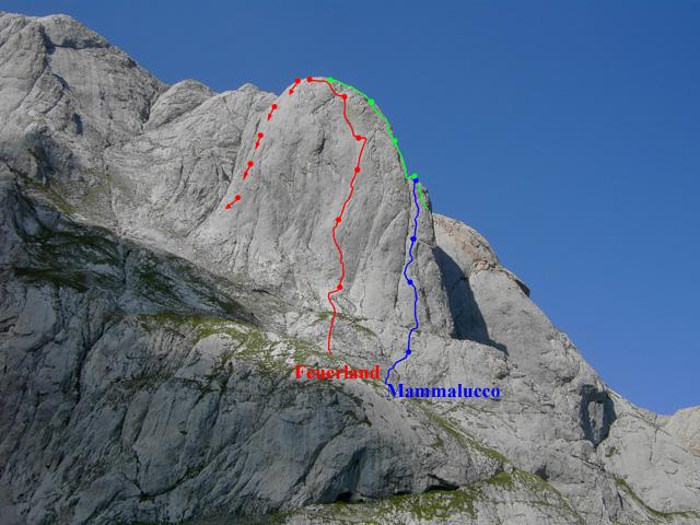 Foto: Kühberger Rudolf / Kletter Tour / Feuerland, VII+ / 27.07.2010 15:27:28