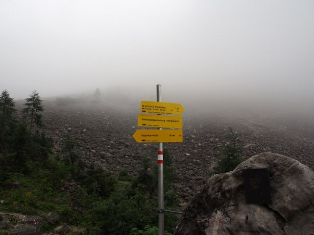 Foto: Andreas Koller / Klettersteig Tour / Hochstuhl Nordwand-Klettersteig (2238m) / 16.10.2014 00:41:57