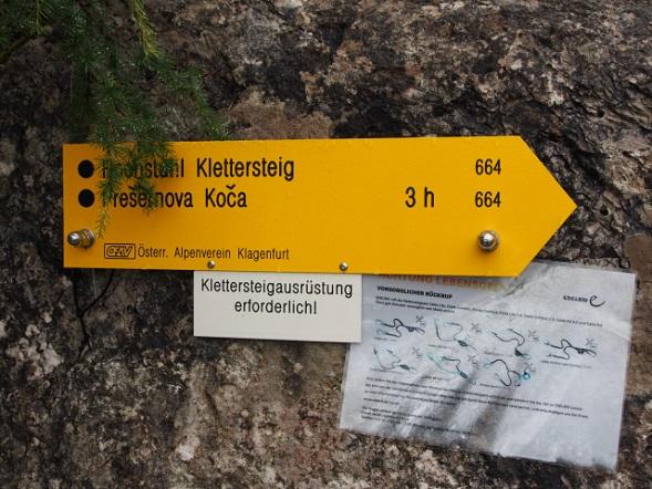 Foto: Andreas Koller / Klettersteig Tour / Hochstuhl Nordwand-Klettersteig (2238m) / 16.10.2014 00:41:52