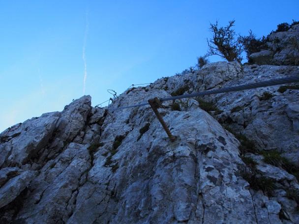 Foto: Andreas Koller / Klettersteig Tour / Hochstuhl Nordwand-Klettersteig (2238m) / 16.10.2014 00:39:56