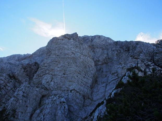 Foto: Andreas Koller / Klettersteig Tour / Hochstuhl Nordwand-Klettersteig (2238m) / 16.10.2014 00:39:46