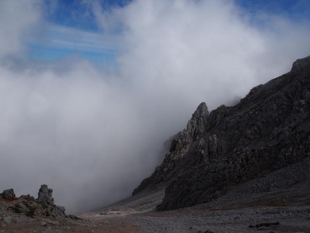Foto: Andreas Koller / Klettersteig Tour / Hochstuhl Nordwand-Klettersteig (2238m) / Abstieg vom Hochstuhl / 16.10.2014 00:39:14