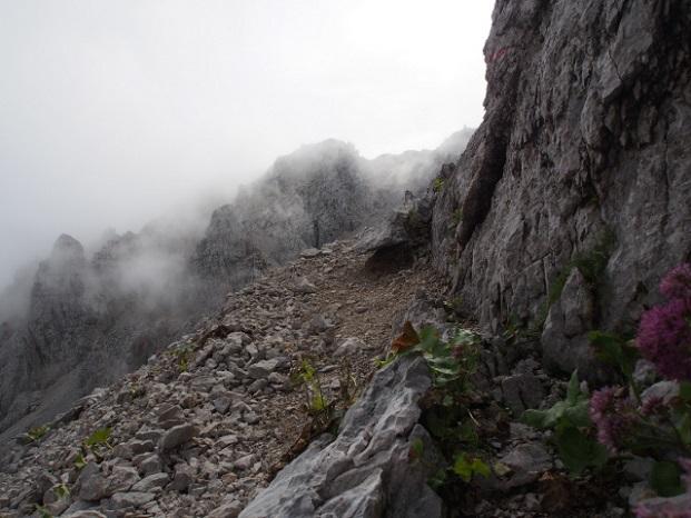 Foto: Andreas Koller / Klettersteig Tour / Hochstuhl Nordwand-Klettersteig (2238m) / 16.10.2014 00:38:55