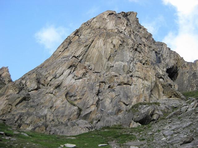 Foto: Wolfgang Lauschensky / Klettersteig Tour / Rote Saile (2879m) - Nordkanten-Klettersteig / Nordostwand der Roten Saile / 26.07.2011 23:35:36