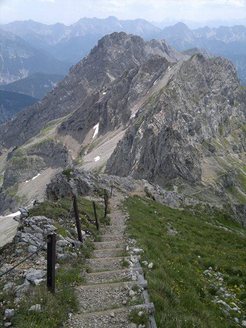 Foto: goldengel80 / Klettersteig Tour / Mittenwalder Höhenweg / 18.07.2015 13:28:33