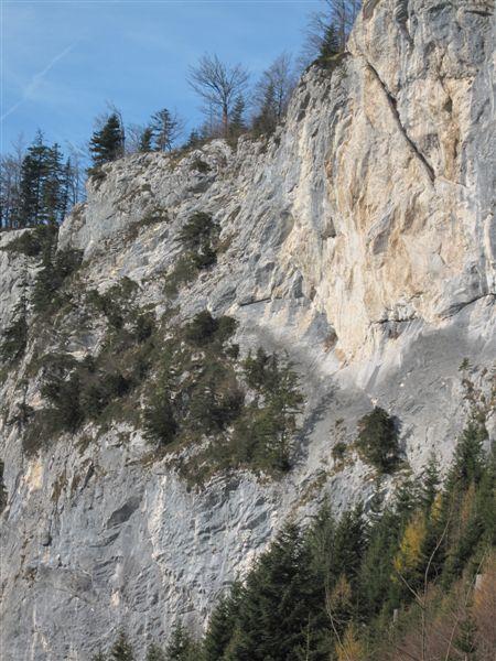 Foto: Heidi Schützinger / Kletter Tour / Luft intan Oarsch / Wandübersicht  / 16.11.2015 18:00:20
