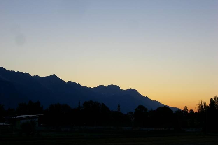 Foto: Thomas Paschinger / Klettersteigtour / Klettersteig Seeben und Klettersteig Vorderer Tajakopf / ein Traumtag kündigt sich an / 25.07.2009 14:19:38