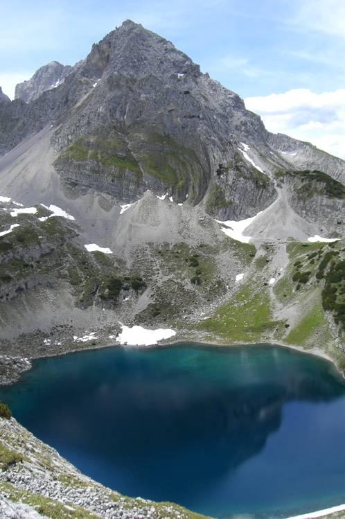 Foto: Thomas Paschinger / Klettersteig Tour / Klettersteig Seeben und Klettersteig Vorderer Tajakopf / Drachenkopf (2303m) und Drachensee / 25.07.2009 14:11:22