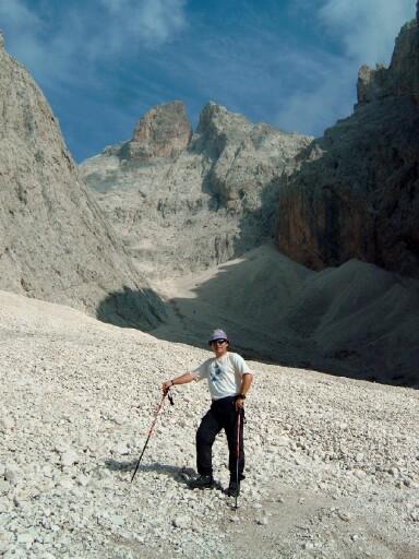 Foto: Andreas Koller / Klettersteigtour / Sass Rigais Ostgrat-Westgrat Klettersteige (3025 m) / 09.05.2008 14:54:03