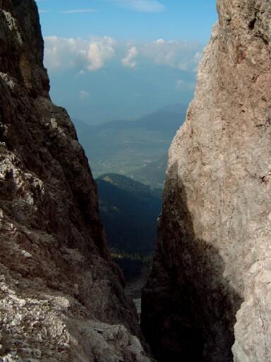 Foto: Andreas Koller / Klettersteigtour / Sass Rigais Ostgrat-Westgrat Klettersteige (3025 m) / 09.05.2008 14:53:57