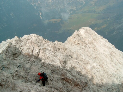 Foto: Andreas Koller / Klettersteigtour / Sass Rigais Ostgrat-Westgrat Klettersteige (3025 m) / 09.05.2008 14:53:19